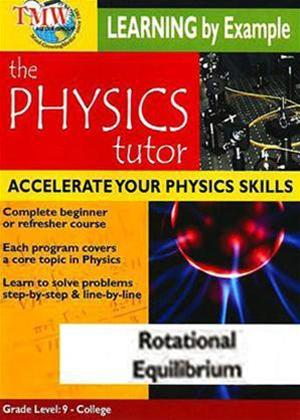 Physics Tutor: Rotational Equilibrium Online DVD Rental