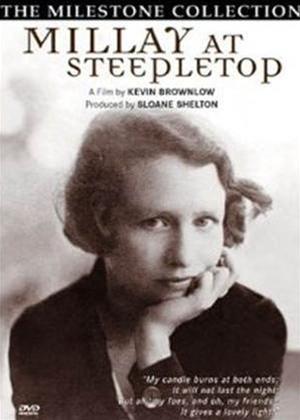Rent Millay at Steepletop Online DVD Rental