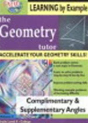 Rent The Geometry Tutor: Complimentary and Supplementary Angles Online DVD Rental