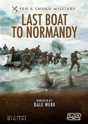 Rent Last Boat to Normandy Online DVD Rental