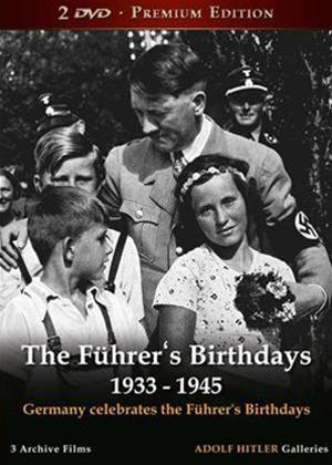 Rent The Fuhrer's Birthday 1933 to 1945 Online DVD Rental
