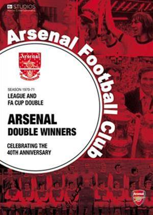 Arsenal: The Double 70 / 71 Online DVD Rental