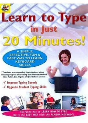 Learn to Type in Just 20 Minutes Online DVD Rental