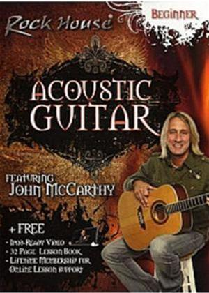 Rent Acoustic Guitar: Beginner Level: Rock House Method with John McCarthy Online DVD Rental