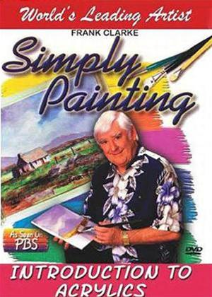 Rent The Simply Painting: Introduction to Acrylics Online DVD Rental