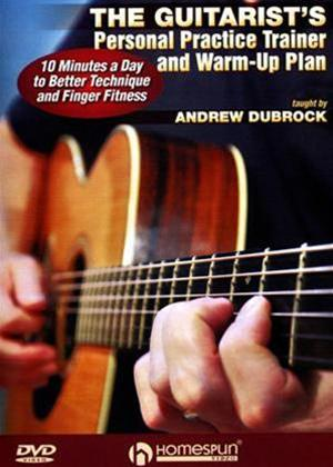 Rent The Guitarist's Personal Trainer and Warm-Up Plan Online DVD Rental