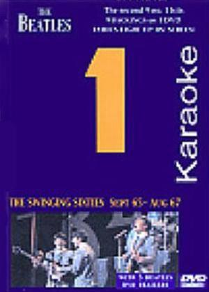 Rent Beatles Number 1 Karaoke: The Swinging Sixties Online DVD Rental