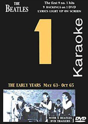 Beatles Number 1 Karaoke: The Early Years Online DVD Rental