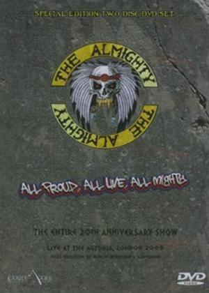 Almighty: Wild and Wonderful Live Online DVD Rental