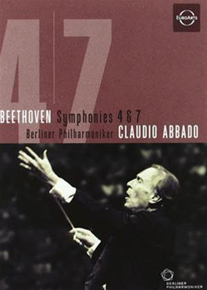 Beethoven: Symphonies Nos. 4 and 7 Online DVD Rental