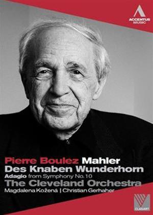 Pierre Boulez: Mahler Online DVD Rental