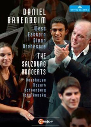 Rent Daniel Barenboim and the West-Eastern Divan Orchestra: The Salzburg Concerts Online DVD Rental