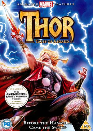 Thor: Tales of Asgard Online DVD Rental