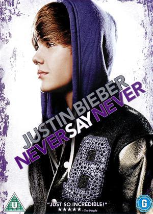 Justin Bieber: Never Say Never Online DVD Rental