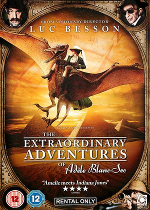 The Extraordinary Adventures of Adele Blanc-Sec Online DVD Rental