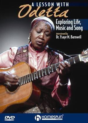 A Lesson with Odetta: Exploring Life, Music and Song Online DVD Rental