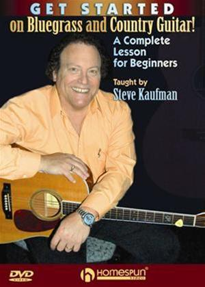 Get Started on Bluegrass and Country Guitar: A Complete Lesson for Beginners Online DVD Rental