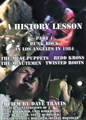 History Lesson: Part 1: Punk Rock in Los Angeles in 1984 Online DVD Rental