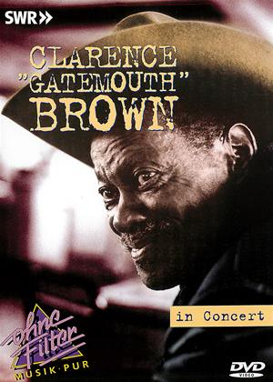 Clarence 'Gatemouth' Brown: Live in Concert Online DVD Rental