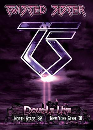 Twisted Sister: Double Live: North Stage '82 / New York Steel '01 Online DVD Rental
