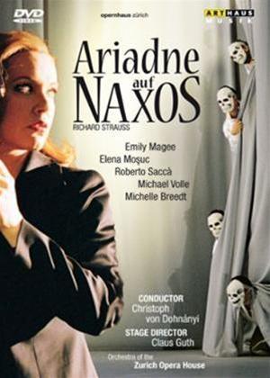 Ariadne Auf Naxos: Zurich Opera House Online DVD Rental