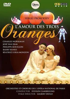 L'amour Des Trois Oranges: Opera National De Paris Online DVD Rental