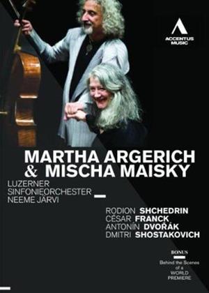 Rent Martha Algerich/Mischa Maisky: Lucerne Symphony Orchestra Online DVD Rental