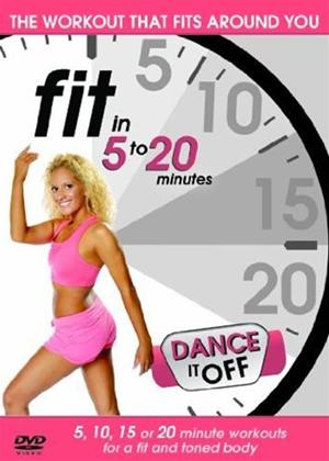 Rent Fit in 5 to 20 Minutes: Dance It Off Online DVD Rental