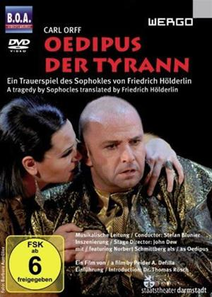 Rent Oedipus the Tyrant: Darmstadt State Theatre (aka Oedipus Der Tyrann: Darmstadt State Theatre) Online DVD Rental