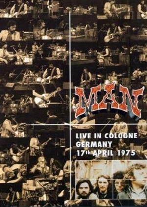 Man: Live in Cologne, Germany 17th April 1975 Online DVD Rental