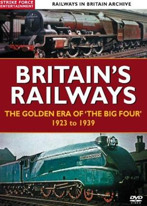 Rent Britain's Railways: The Golden Age of The Big Four' 1923 to 1939 Online DVD Rental