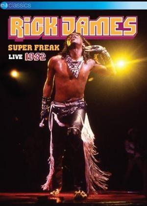 Rick James: Super Freak Live 1982 Online DVD Rental