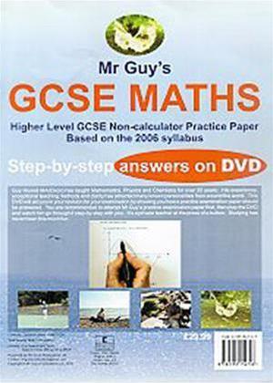 Rent Maths GCSE Higher Level: Non-Calculator Practice Paper 2006 Online DVD Rental