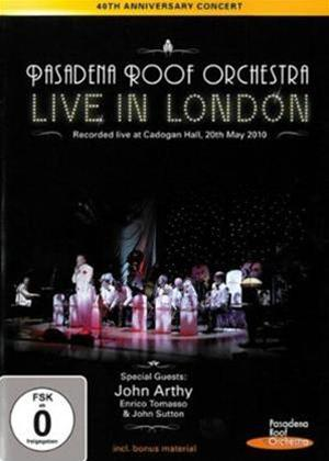 The Pasadena Roof Orchestra: Live in London Online DVD Rental