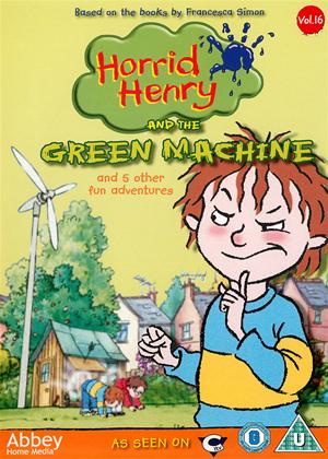 Rent Horrid Henry and the Green Machine Online DVD Rental