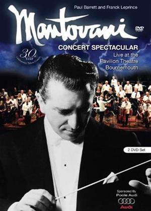 Mantovani: Concert Spectacular Online DVD Rental