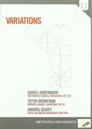 Variations: Barenboim / Bronfman / Schiff Online DVD Rental