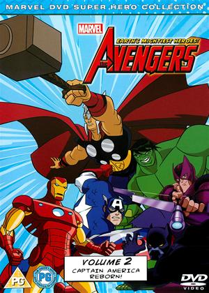 Rent The Avengers: Earth's Mightiest Heroes: Vol.2 Online DVD Rental