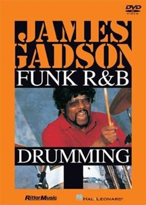 Rent James Gadson: Funk / R and B Drumming Online DVD Rental