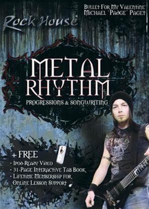 The Rock House Method: Metal Rhythm: Progressions Online DVD Rental