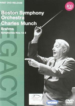 Charles Munch: Brahms Symphonies Nos. 1 and 2 Online DVD Rental
