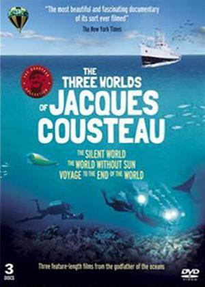 Rent The Three Worlds of Jacques Cousteau Online DVD Rental