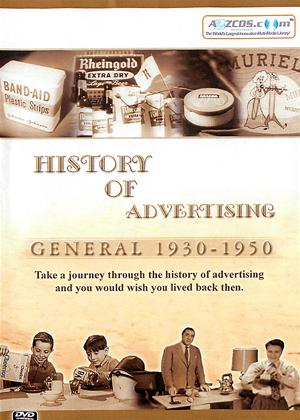History of Advertising: General 1930 to 1950 Online DVD Rental