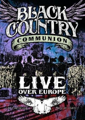 Black Country Communion: Live Over Europe Online DVD Rental