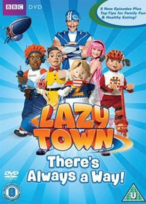Lazytown: There's Always a Way Online DVD Rental
