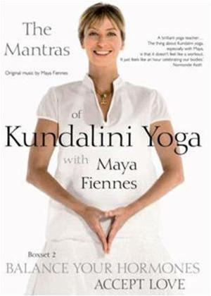 Kundalini Yoga with Maya Fiennes: Balance Your Hormones / Accept Love Online DVD Rental