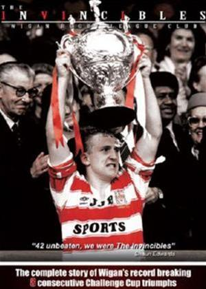 Rent Wigan Rugby League Club: The Invincibles Online DVD Rental