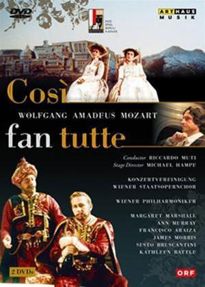 Cosi Fan Tutte: Vienna State Opera Online DVD Rental