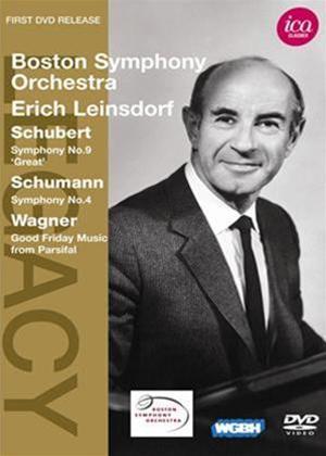 Rent Erich Leinsdorf: Schubert / Schumann / Wagner Online DVD Rental