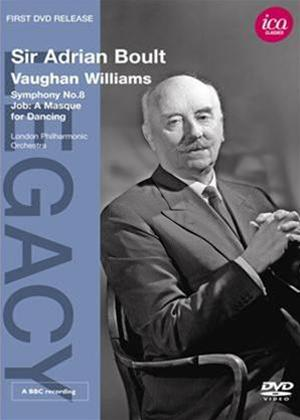 Rent Sir Adrian Boult: Vaughan Williams Symp. No.8 / Job: A Masque Online DVD Rental